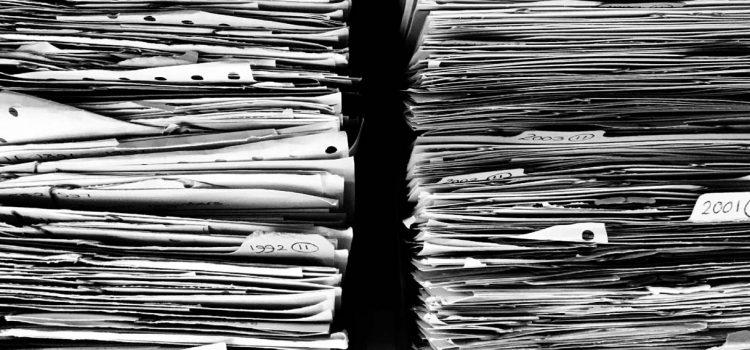Conservez vos documents fiscaux